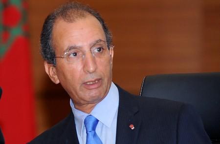 Mohamed Hassad, ministre de l'Intérieur marocain. D. R.