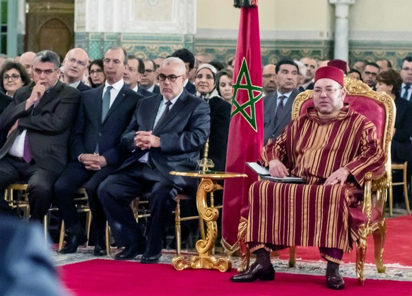 Mohammed VI youcef chahed