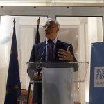 L'ambassadeur de France à Alger, Bernard Emié. D. R.