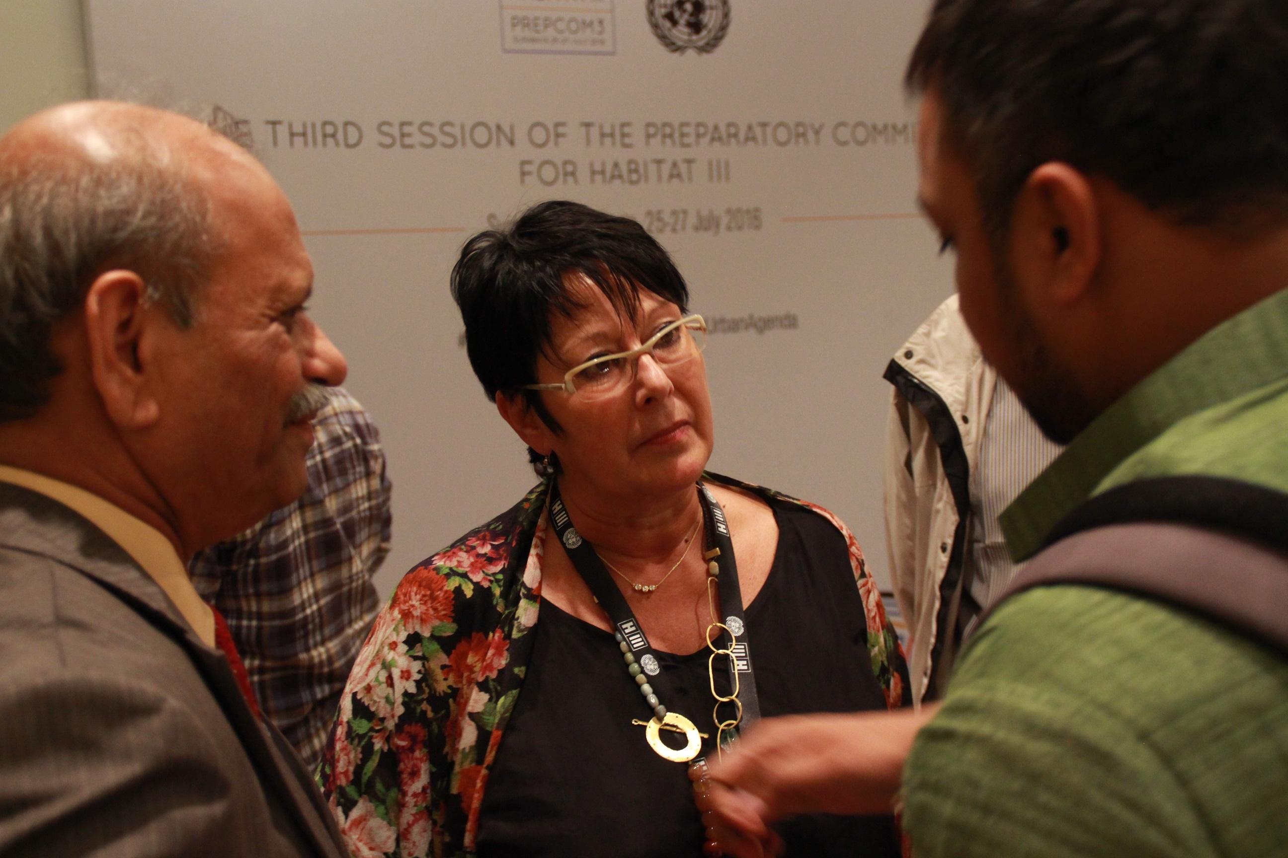 Rosa Pavanelli, secrétaire générale de l'ISP. D. R.