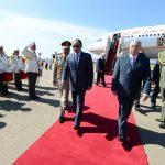 Al-Sissi à Alger en 2014. New Press