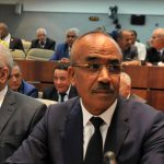Noureddine Bedoui ministre de l'Intérieur. New Press