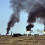 Champs de pétrole à Hassi Messaoud. D. R.