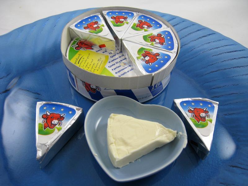 Fromage fondu «La vache qui rit». D. R.