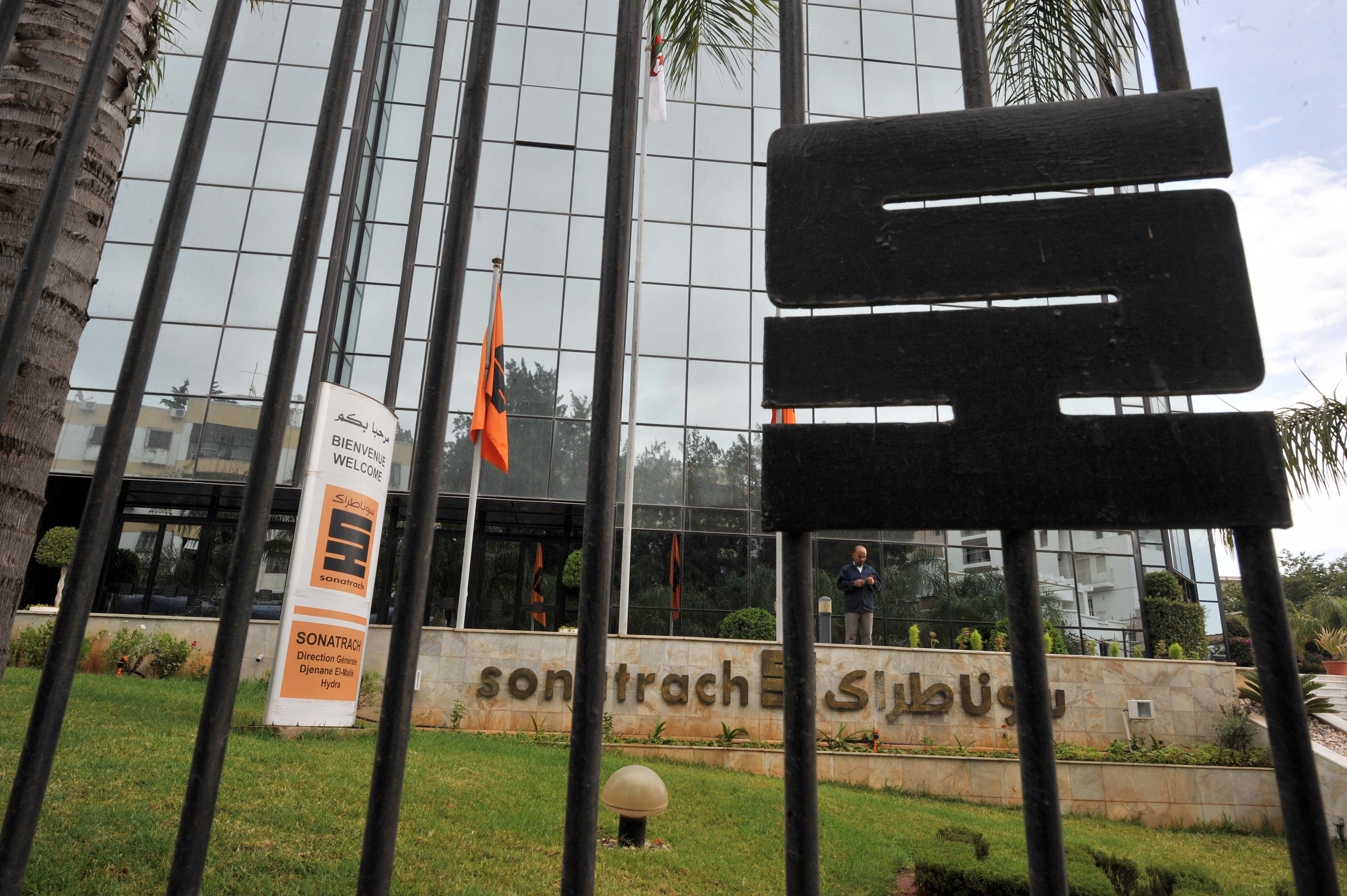 Siège de la Sonatrach. New Press