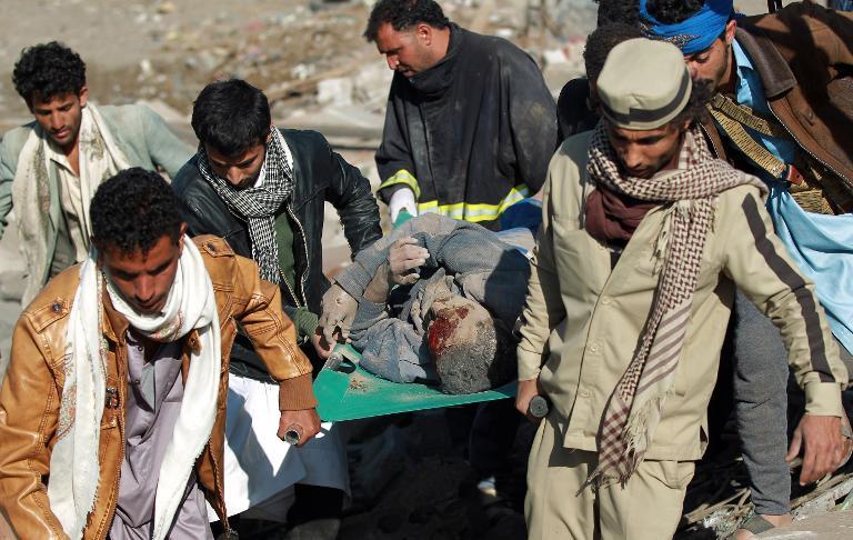 Les victimes de l'agression saoudienne au Yémen se comptent par milliers. D. R.