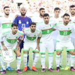 La sélection algérienne qui a affronté le Nigeria. D. R.