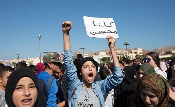 Des dizaines de milliers de personnes avaient défilé à Al-Hoceima. D. R.