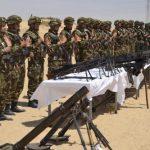 Une des nombreuses saisies d'armes par les soldats de l'ANP. D. R.