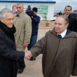 Bouteflika et Khelil à Oran en 2008. New Press
