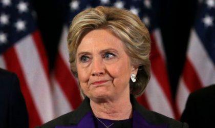 Clinton félicite Trump et lui propose de «travailler ensemble»
