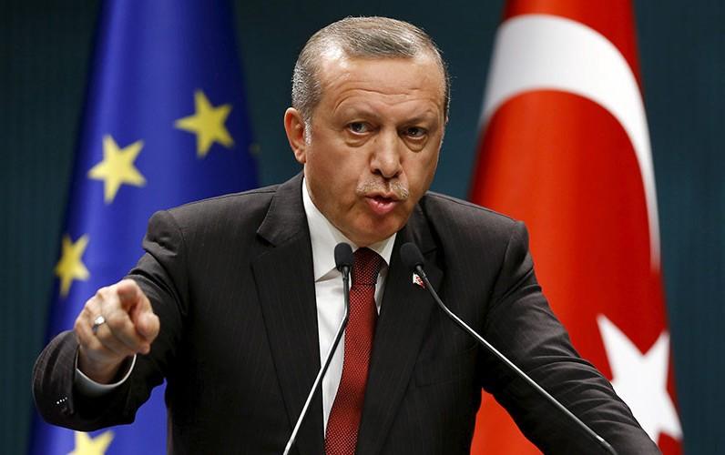 Le président turc Recep Tayyip Erdogan. D. R.