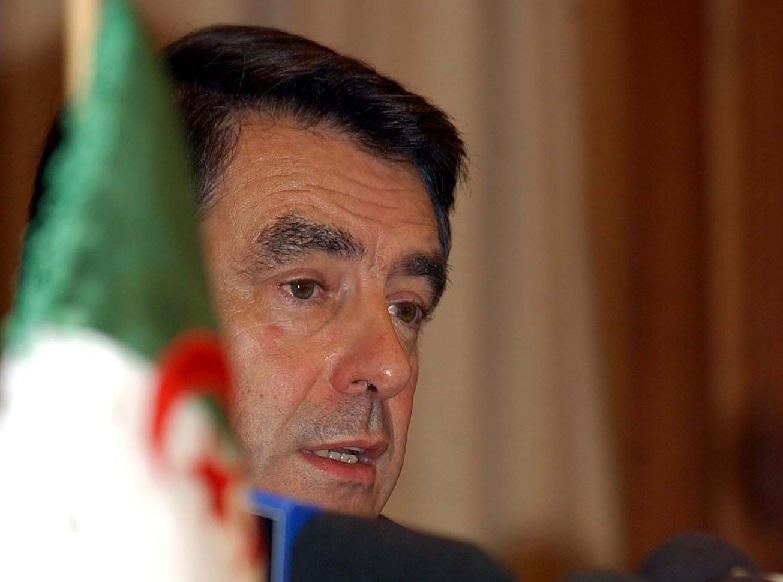 François Fillon lors de sa visité à Alger. D. R.