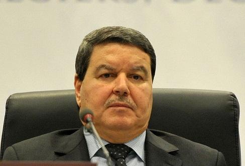 Le général-major Abdelghani Hamel. New Press
