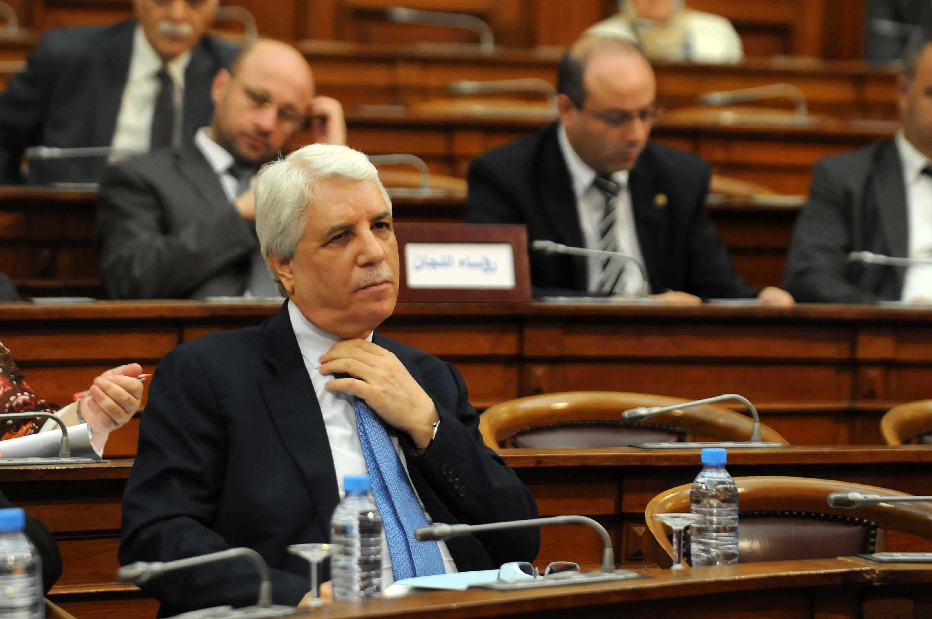 Tayeb Louh, ministre de la Justice, garde des Sceaux. New Press