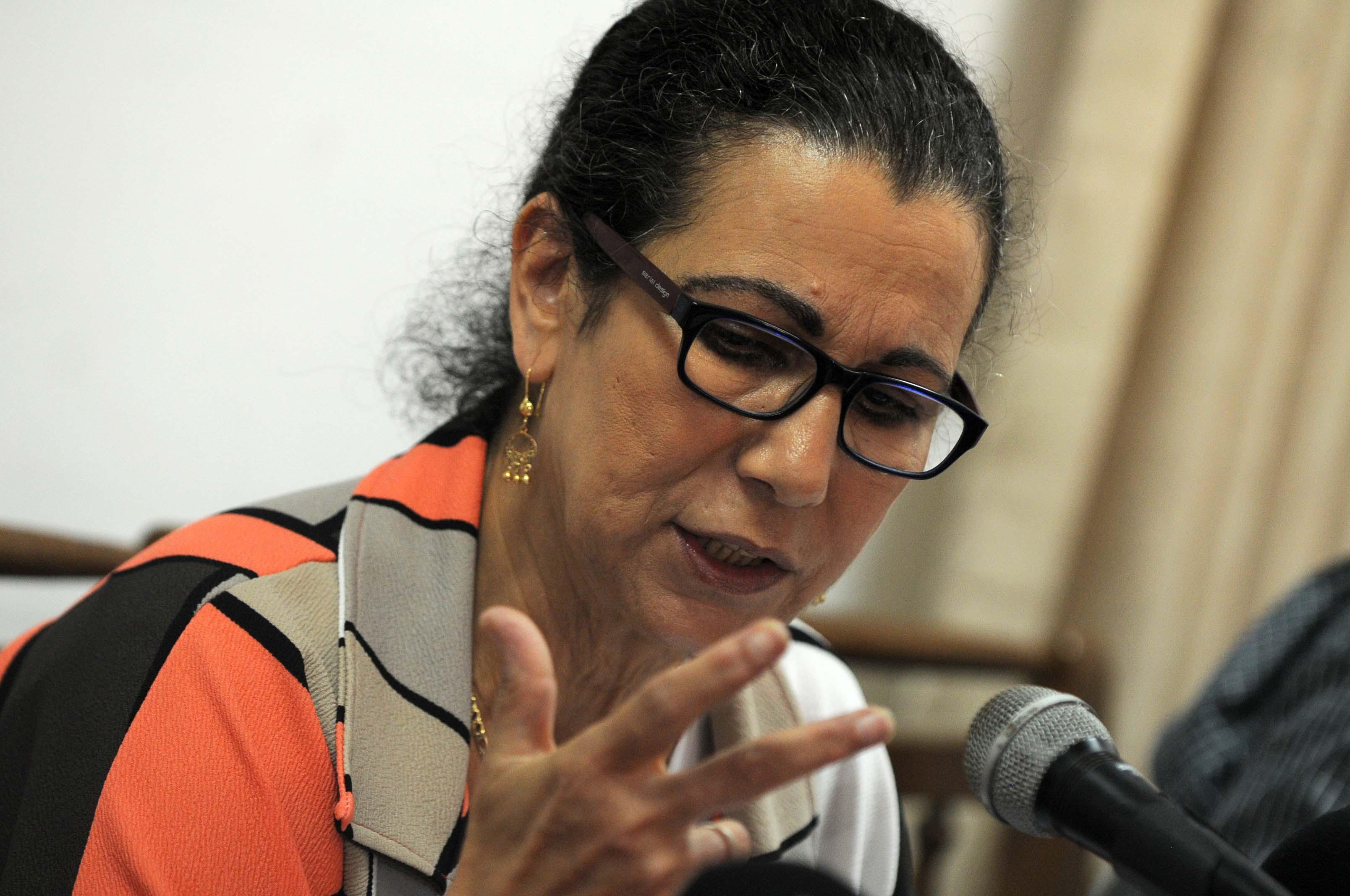 Louisa Hanoune, secrétaire générale du PT. New Press