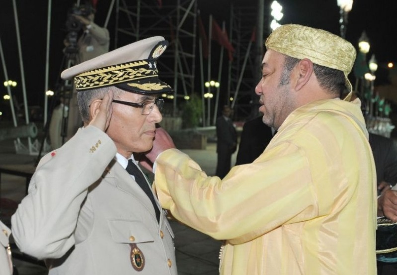 Mohammed V et son armée démasqués. D. R.