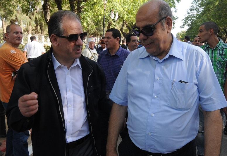 Mohamed Raouraoua en compagnie du MJS El Hadi Ould Ali. New Press
