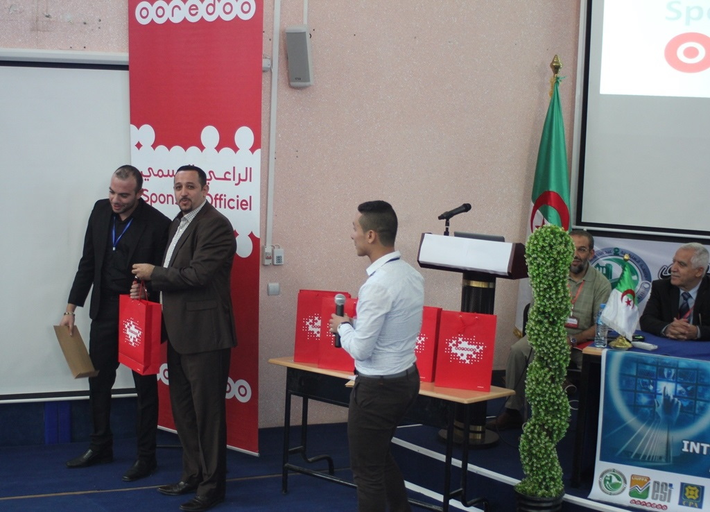 Ooredoo a été le sponsor de l'ICAASE'16. D. R.