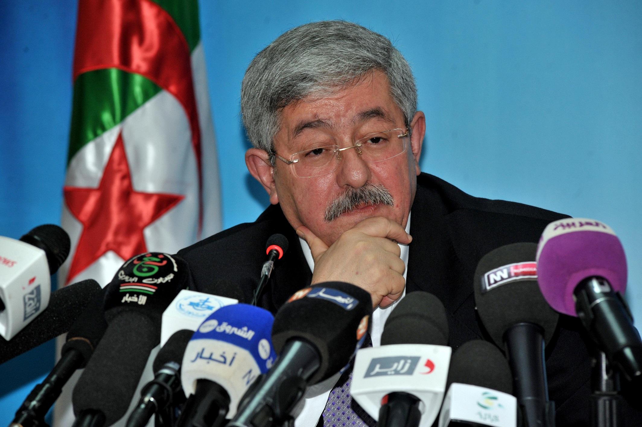 Ahmed Ouyahia. New Press