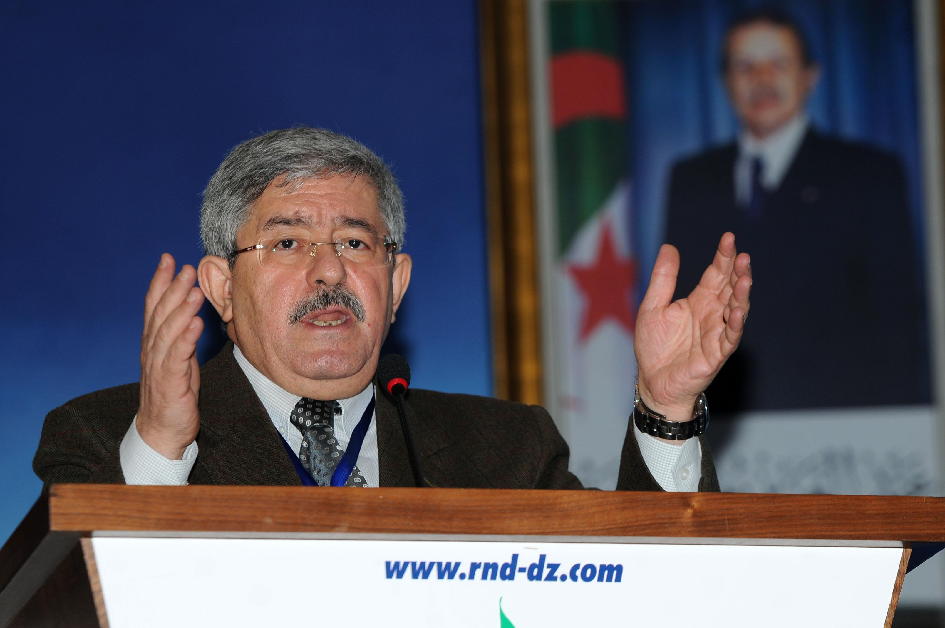 Les frondeurs accusent Ouyahia de s'être éloigné des principes fondateurs du RND. New Press