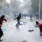 Les affrontements ont duré plusieurs heures. Archives/New Press