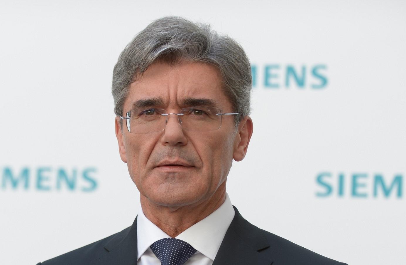 Joe Kaeser, P-DG de Siemens. D. R.