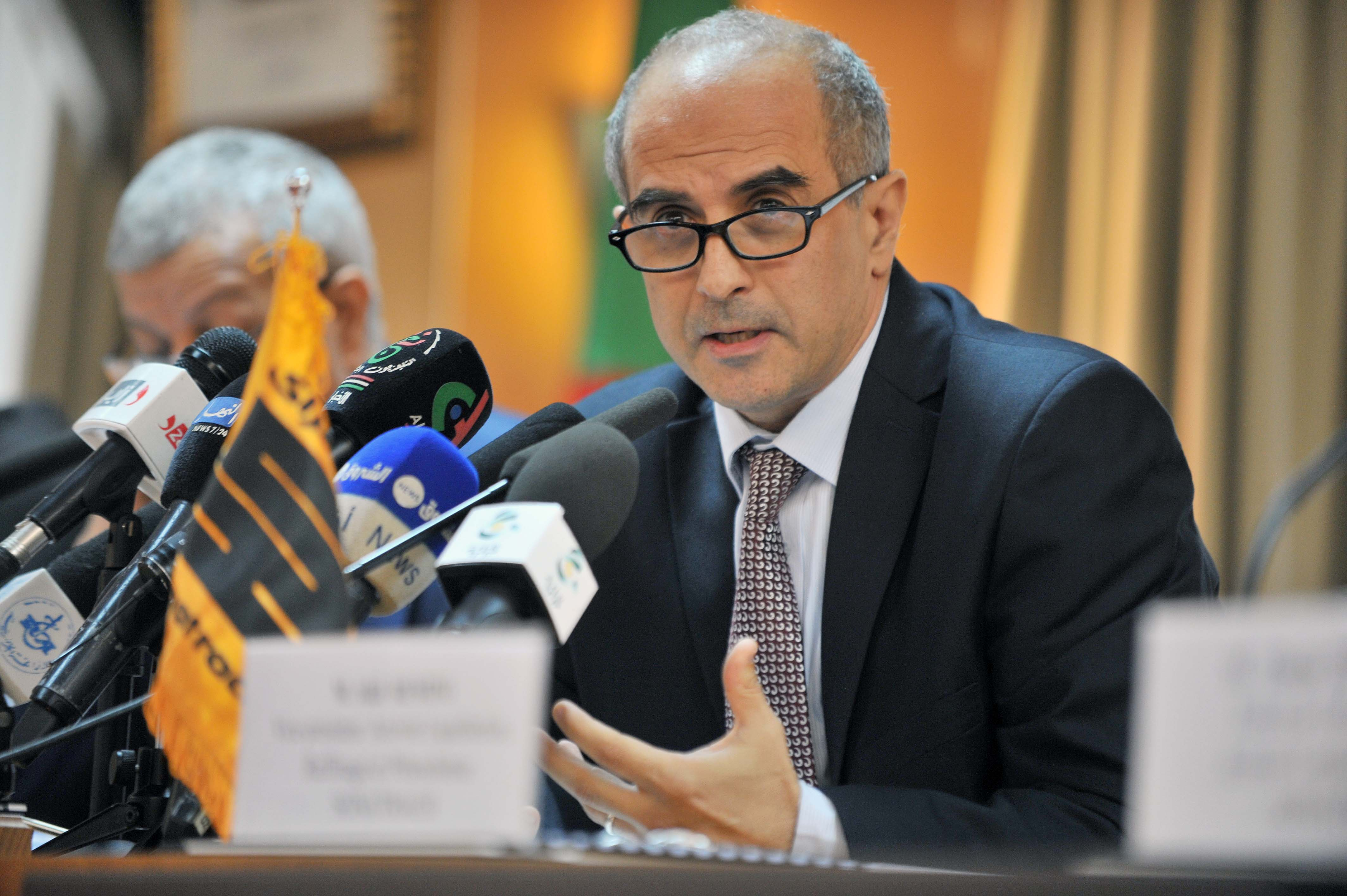 Amine Mazouzi, PDG de Sonatrach. New Presse