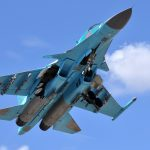 Le nouveau Sukhoï a été adapté aux besoins spécifiques de l'armée de l'air algérienne. D. R.