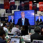 Les médias dominants ont tout fait pour faire tomber Donald Trump. D. R.