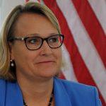 L'ambassadrice des Etats-Unis en Algérie, Joan A. Polaschik. New Press