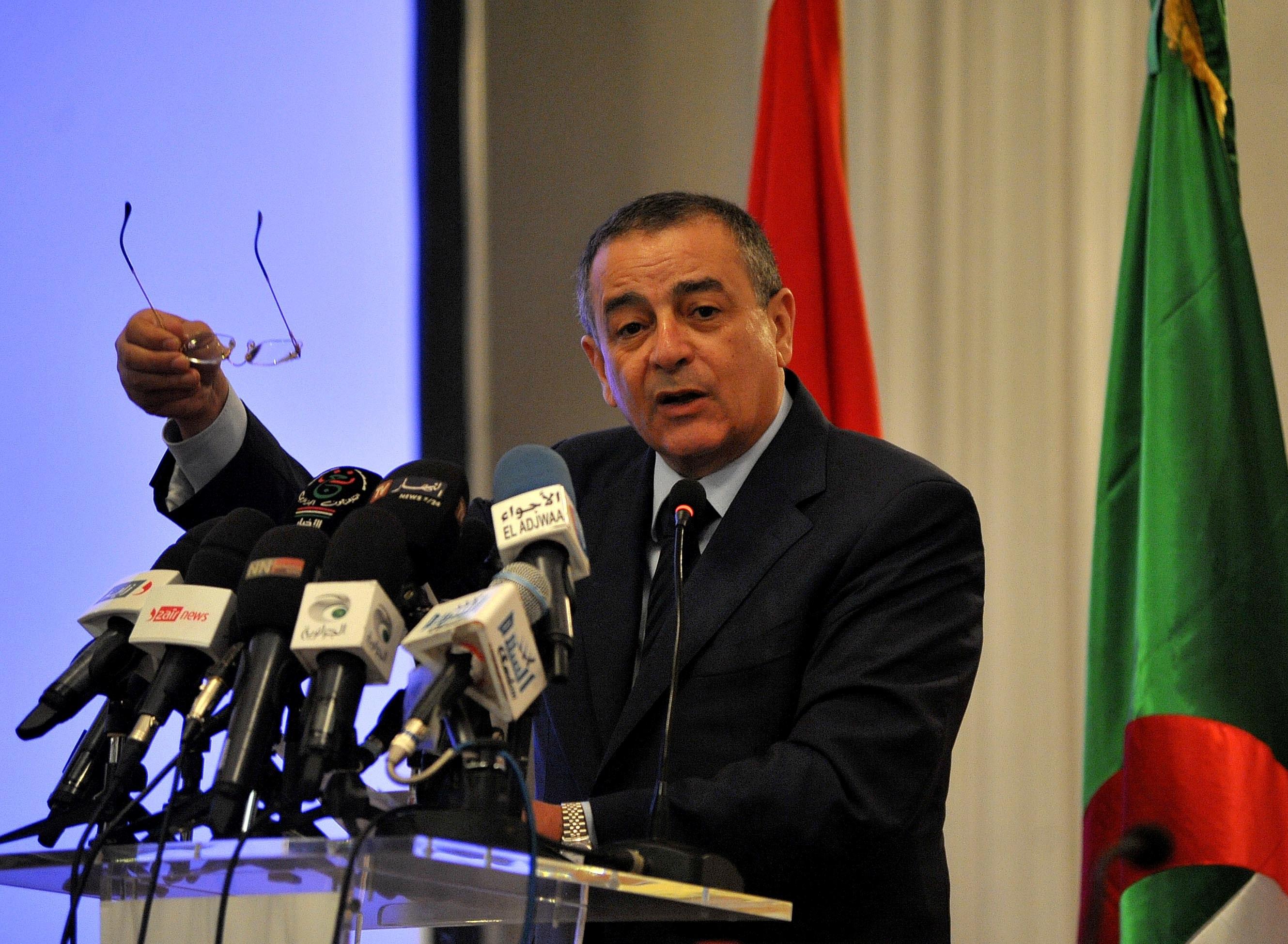Abdesslam Bouchouareb, ministre de l'Industrie et des Mines. New Press