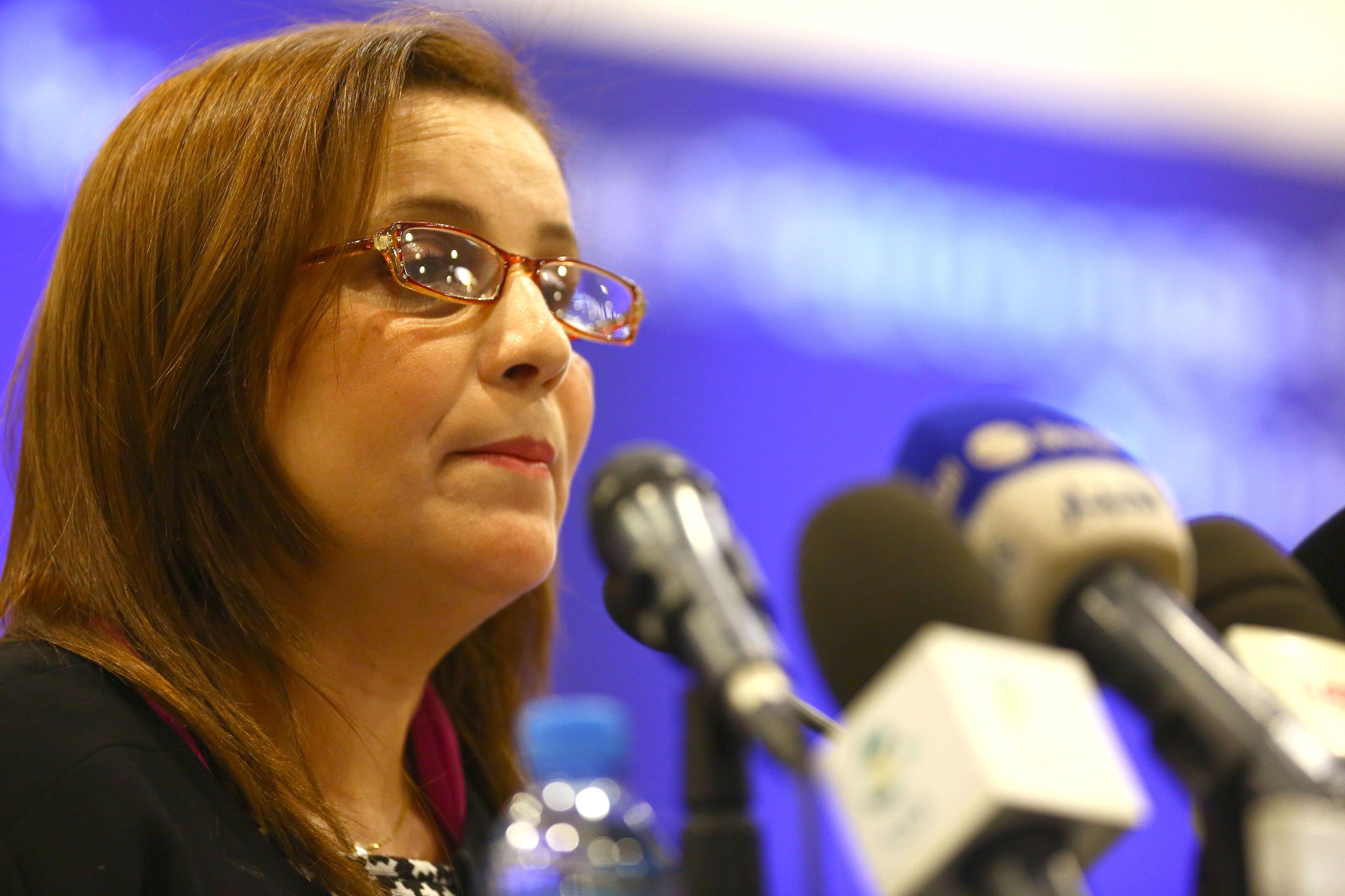 La ministre de la Solidarité nationale, de la Famille et de la Condition de la femme. New Press