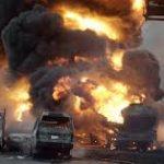 L'explosion s'est produite au moment où des centaines de personnes tentaient de siphonner le carburant. D. R.