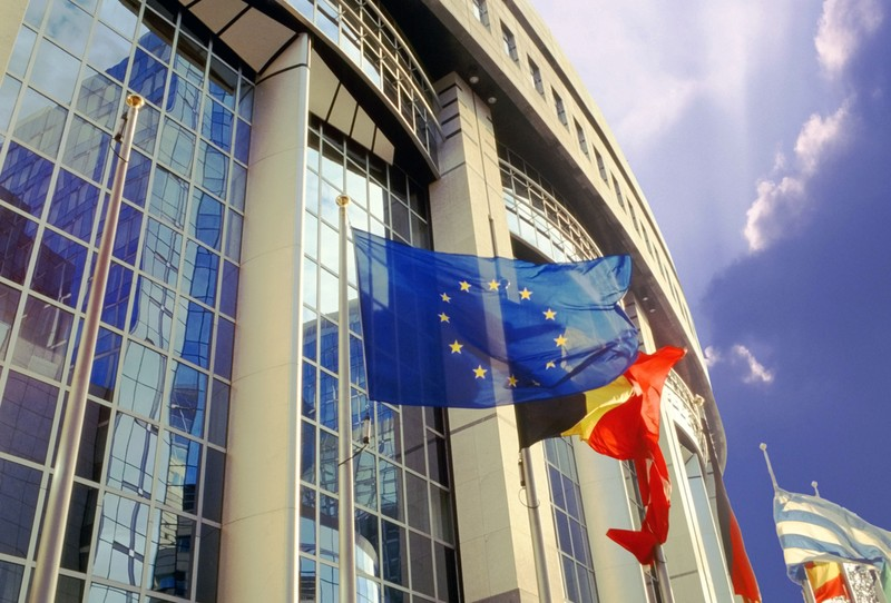 Siège du Parlement européen à Strasbourg. D. R.