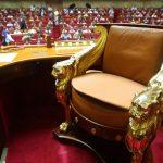 Vue de l'Assemblée française. D. R.