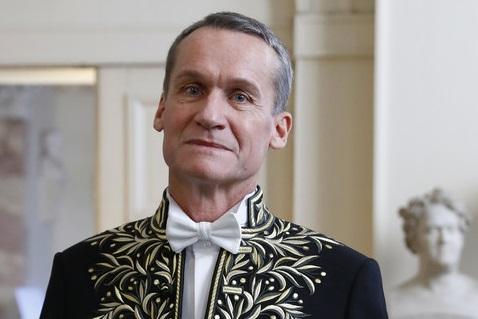 L'académicien Andreï Makine. D. R.