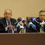 Abdelaziz Benali Cherif avec le ministre des AE, Ramtane Lamamra. New Press