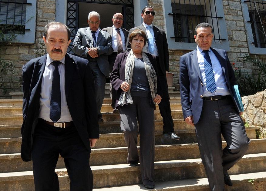 Nouria Benghebrit, ministre de l'Education nationale. New Press