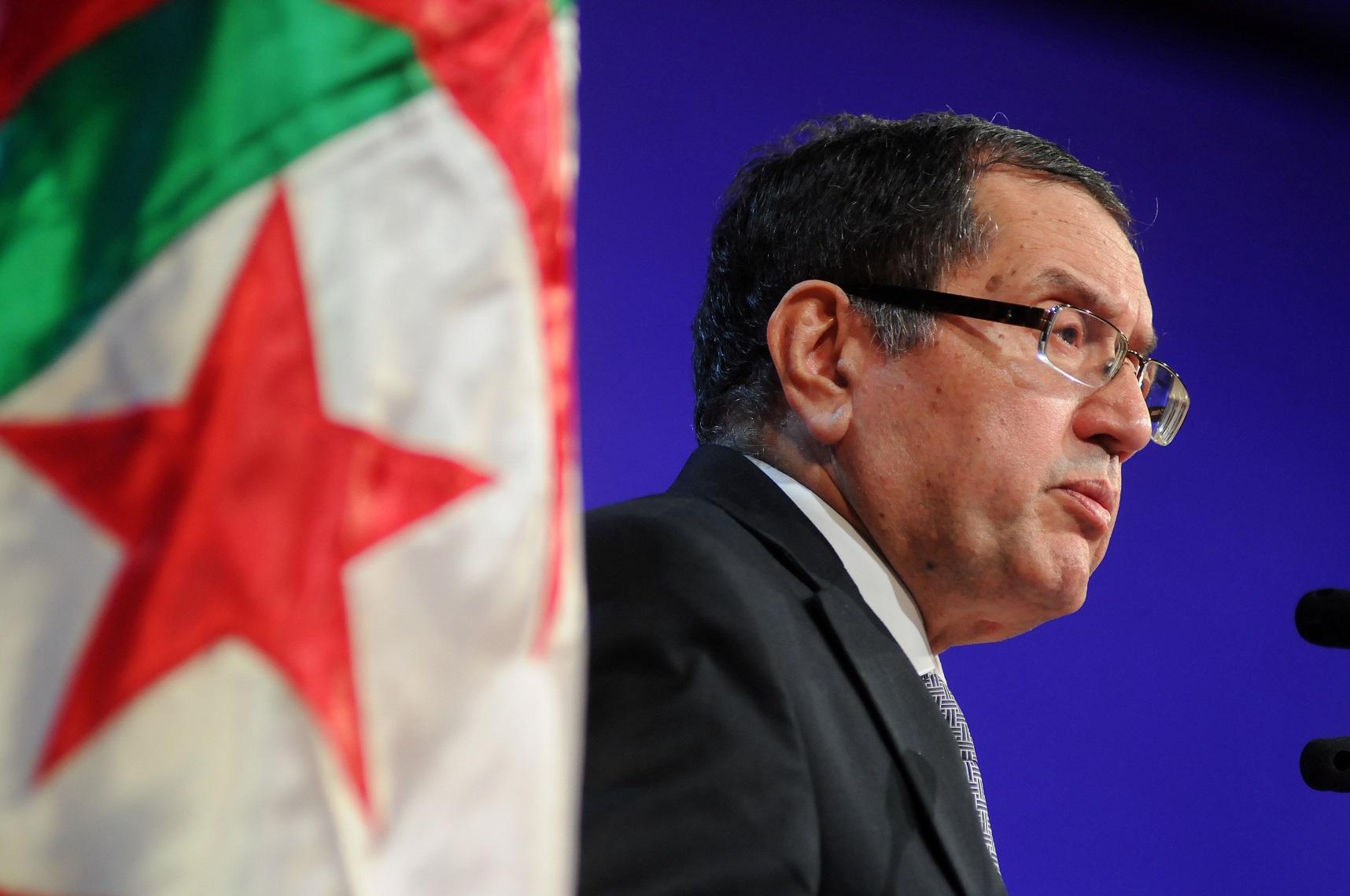 Noureddine Boutarfa, ministre de l'Energie. New Press