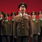 Les Chœurs de l'Armée rouge. D. R.