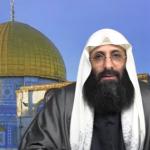 L'imam palestinien Salah-Eddine Ibn Ibrahim s'adressant aux Algériens. D. R.