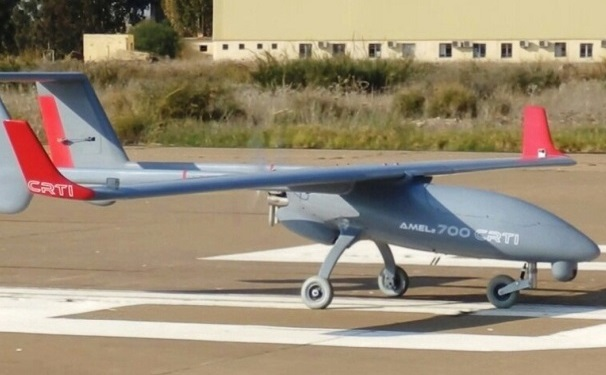 Le drone Amel 3 de fabrication algérienne. D. R.