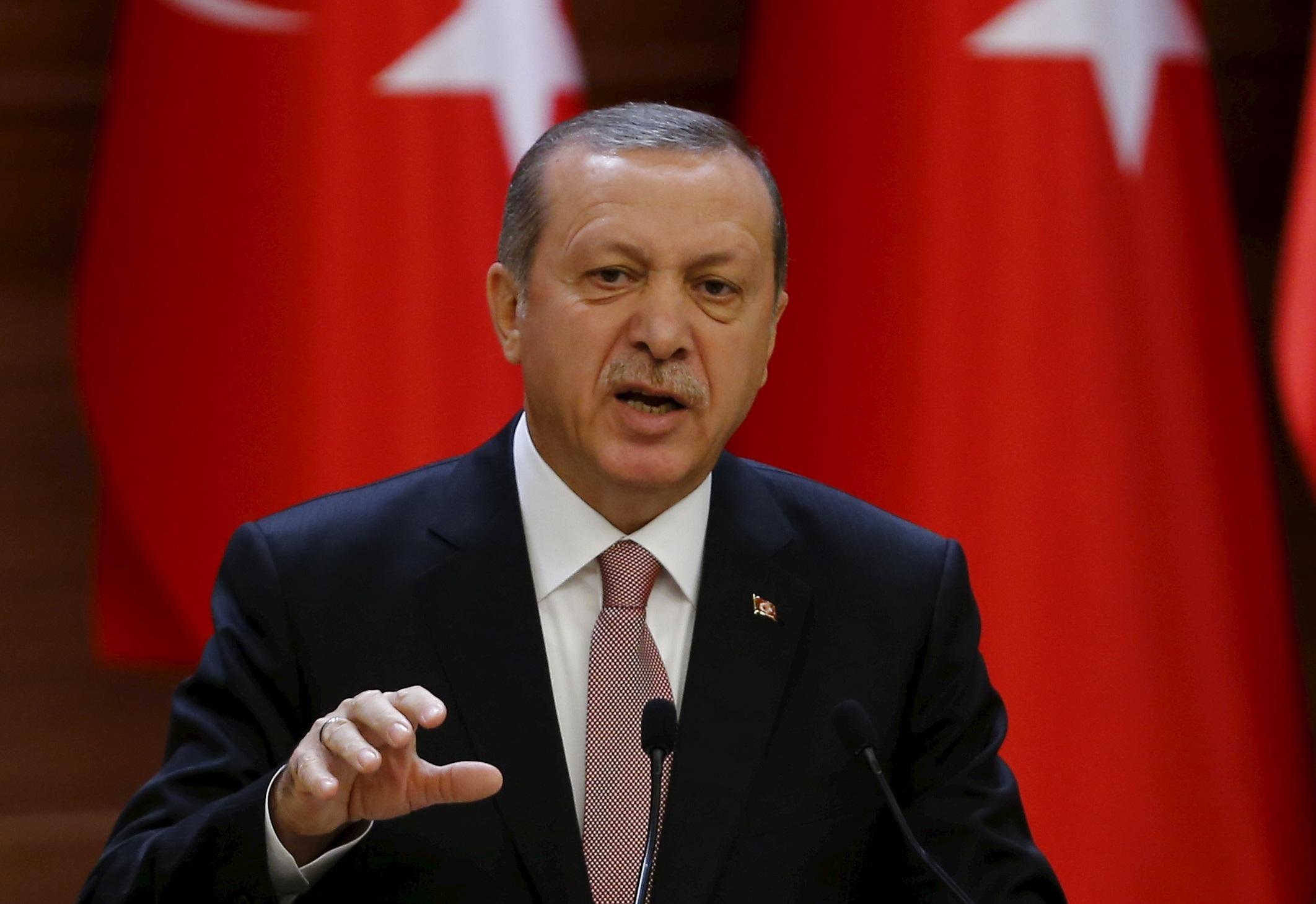 Recep Tayyip Erdogan. D. R.