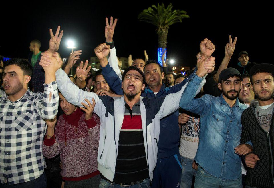 La colère des Marocains ne baisse pas. D. R.