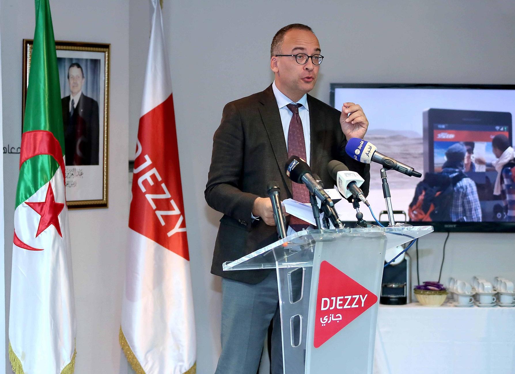 Tom Gutjahr, DG de Djezzy. D. R.