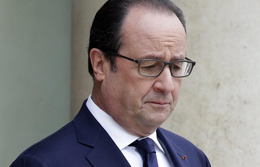 François Hollande. D. R.