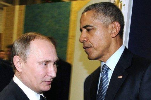 L'incommunicabilité entre  Poutine et Obama s'est aggravée. D. R.