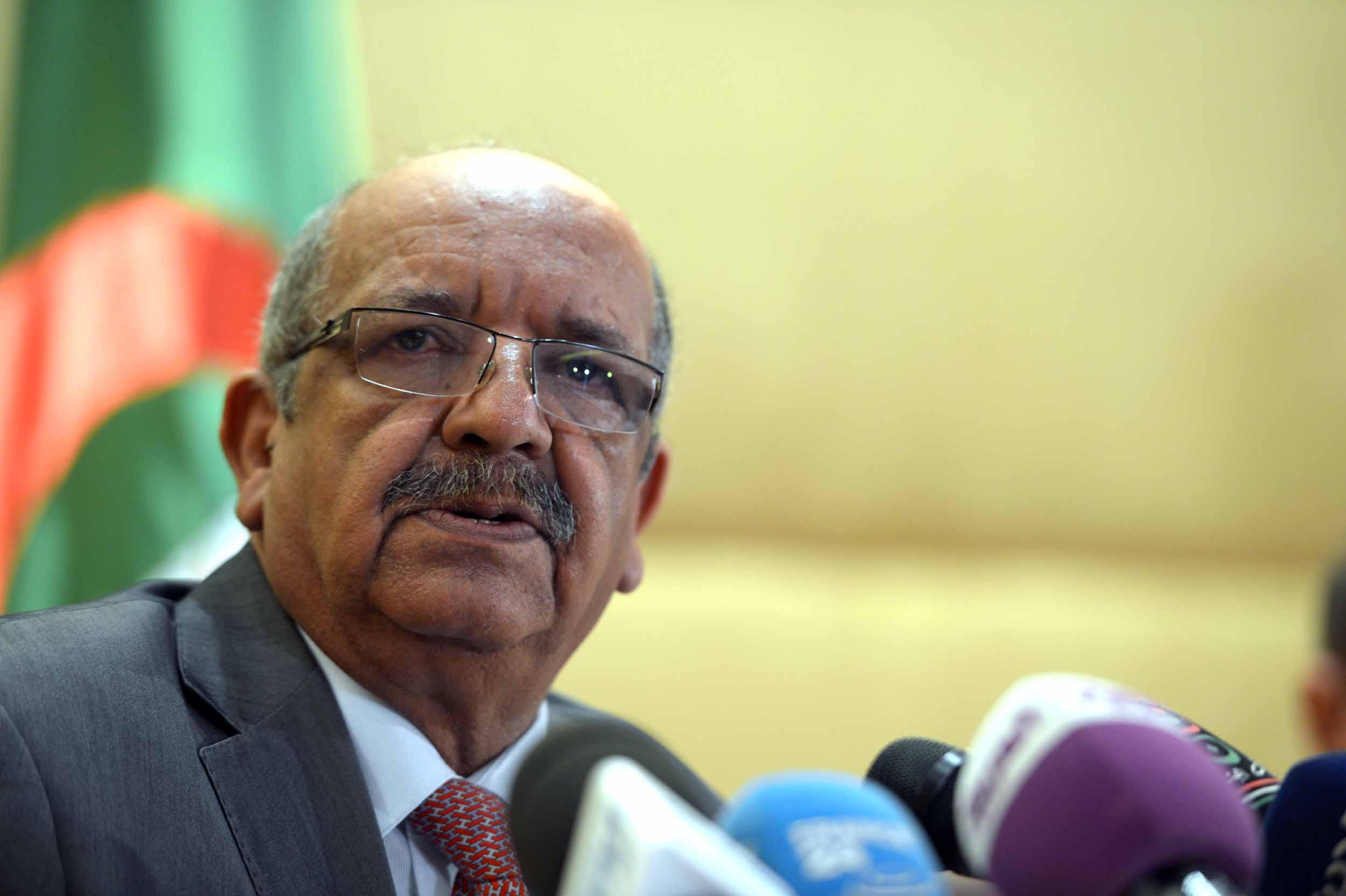 Messahel s'entretiendra avec le ministre en charge du Moyen-Orient et de l'Afrique du Nord. New Press