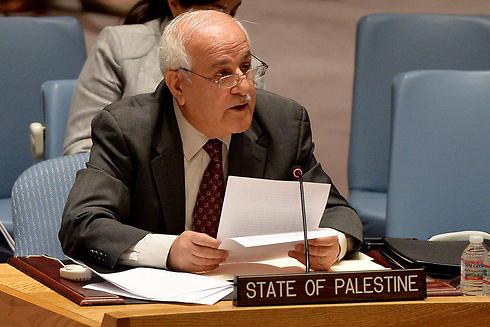 L'observateur permanent de l'Etat de Palestine à l'ONU, Riyad Mansour. D. R.
